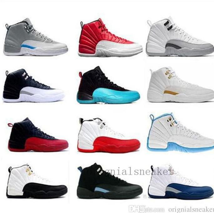 99c6a553108a 2018 High Quality 12 12s OVO White Gym Red Dark Grey Basketball Shoes Men  Women Sneakers Outdoors Size 36 47 Naot Shoes High Heel Shoes From Jc88808