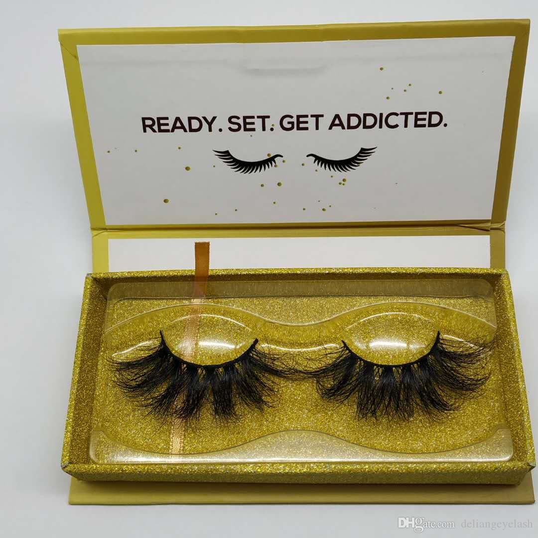 5D 3D mink false eyelashes 25mm eyelashes natural long long dense mink hair material soft and comfortable can be repeatedly used Factory who