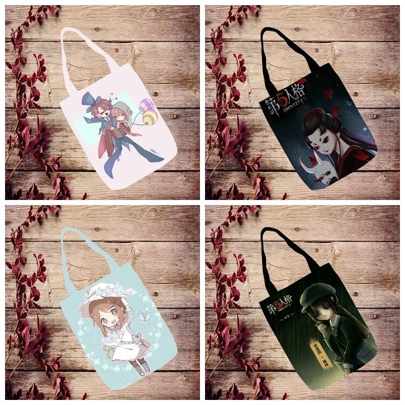 IVYYE 1PCS Hot Game Doctor Fashion Anime Canvas Shoulder Bags Casual Shopping Bag Cartoon Tote Handbag Travel Lady Girl New
