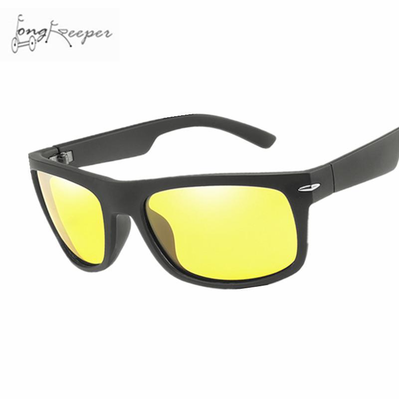 3d2bb1114 Compre Óculos De Visão Noturna Para Mulheres Dos Homens De Pesca Ciclismo  Bicicleta Ao Ar Livre Óculos De Sol Amarelo Lente De Proteção Unisex Óculos  De ...
