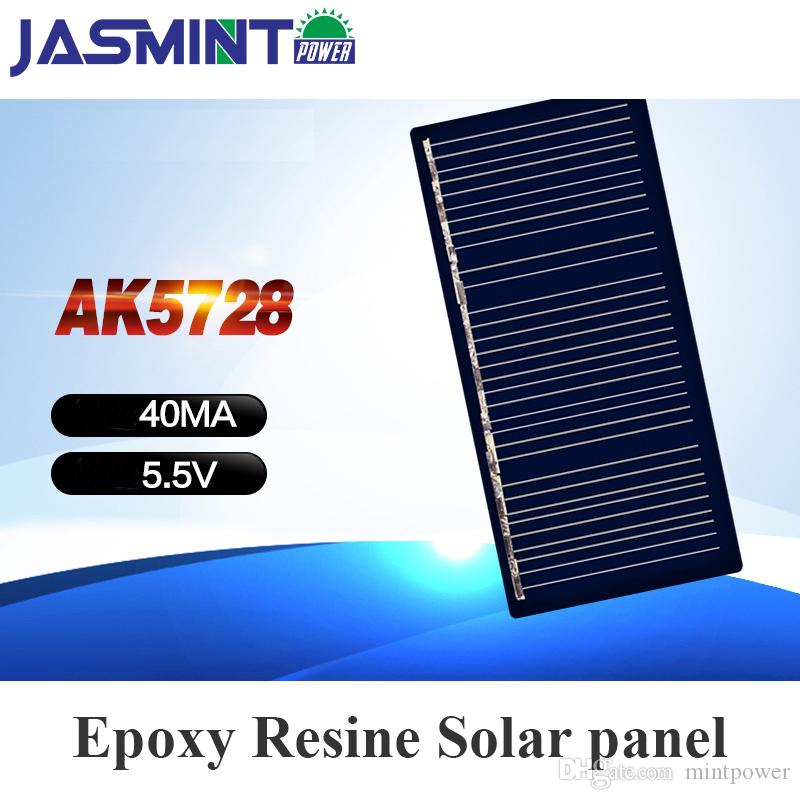 57*28mm 40mA 5 5V Mini Solar Panels Solar Cells For DIY Scientific  Experiment for lamp light charge bank