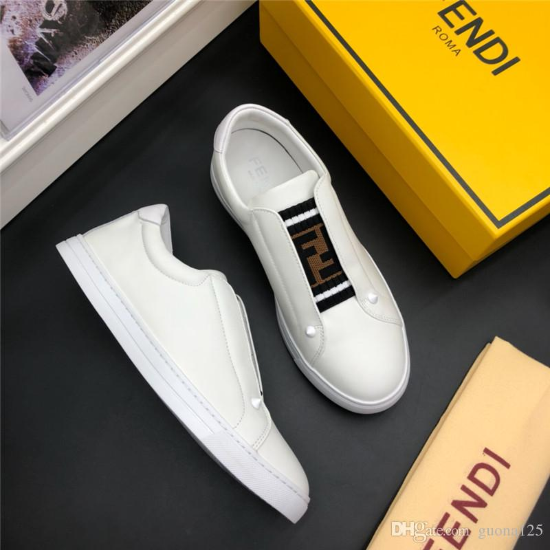 2019 Mens designer shoes Shoe Beautiful Platform Casual Sneakers Luxury Designers Shoes Leather Solid Colors Dress Shoe D06