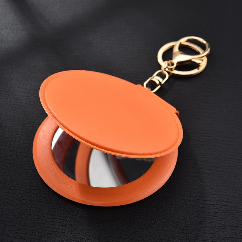 New Personalized Mirror Key Chain Keychain for Car Key Ring Holder Women Handbag Charm Accessories Jewelry Gift EH325