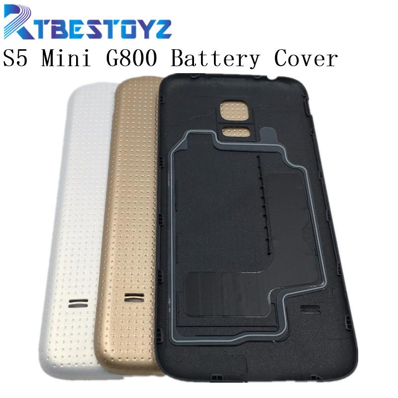 reputable site 99d8b e5267 wholesale Original S5 mini Battery Back Cover Housing For Samsung Galaxy S5  mini G800 G800F Battery Door Back