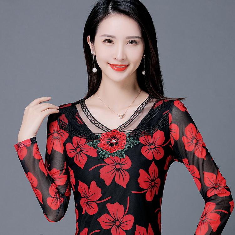 f403199c6fa New Winter Velvet Womens Tops And Blouses Thicker Panelled Shirt ...
