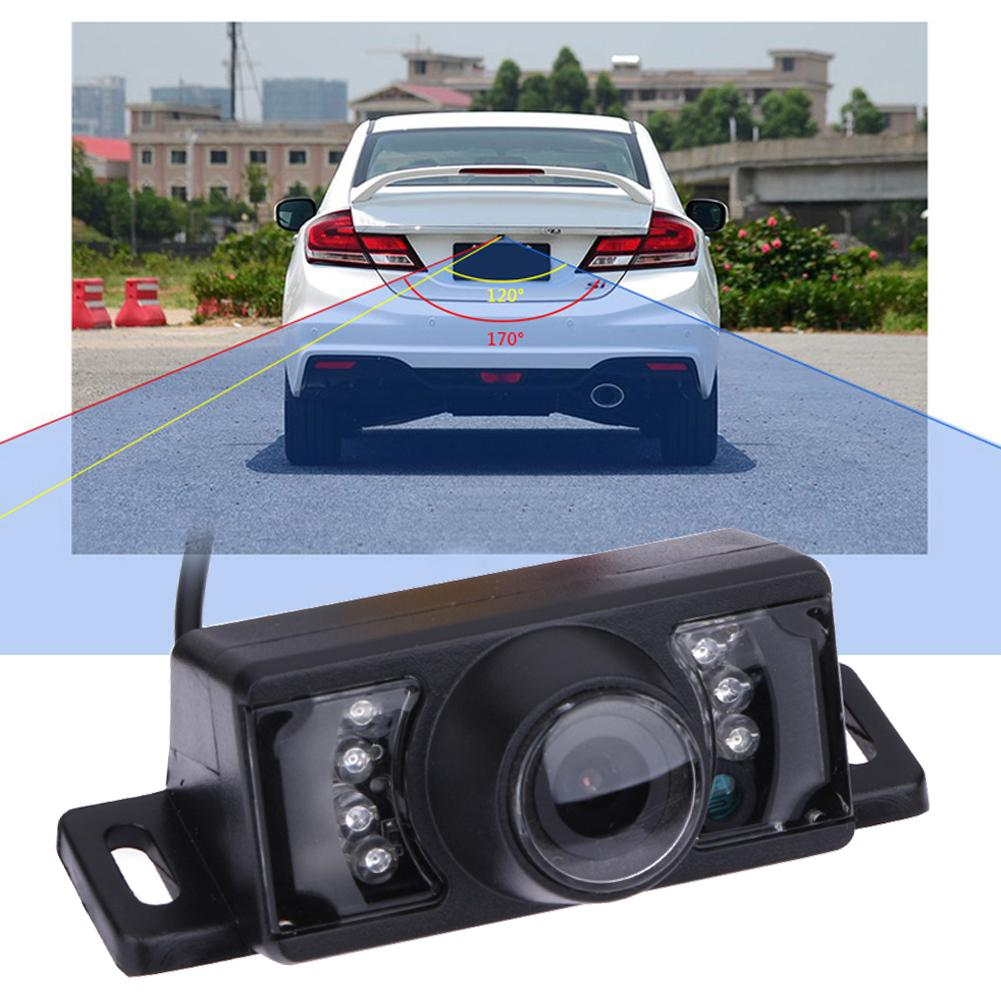 2x 360°hd 170° Car Reverse Backup Night Vision Camera Rear View Parking Cam Kit Interior Trim