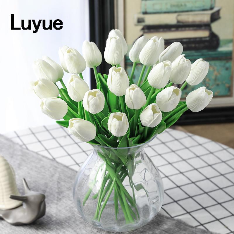 Grosshandel 31 Teile Los Tulip Kunstliche Blumen Hochzeit Decor
