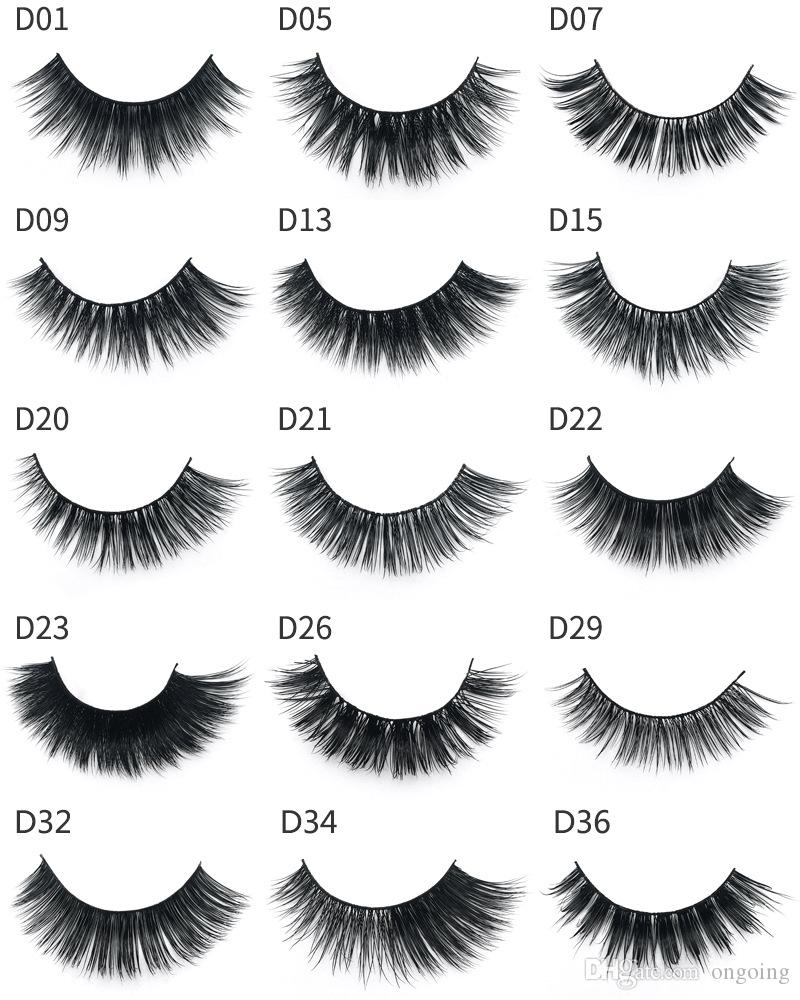feee763afd2 Mink Eyelashes 3D Mink Lashes Thick HandMade Full Strip Lashes ...