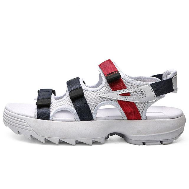 2019 fashion Original II men womens Summer designer Sandals black white red Outdoor slippers Soft Water Shoe-as51d5w1