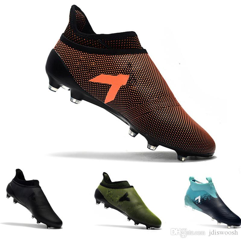 c65b142a4 Ace 17+ Purecontrol X Purechaos FG football Boots Low Tops outdoor soccer  cleats soccer shoes size 39-45
