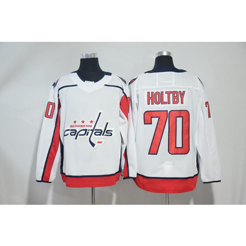 2018 Mens Washington Capitals Braden Holtby Home Away Red White Hockey  Jersey All Player In From Jerseys4858 0bb74571c