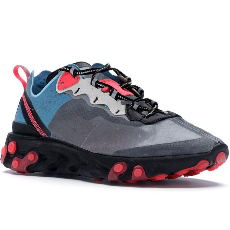 huge discount 37817 d30ef Acheter Blue Chill Solaire Rouge Neptune Teinte Royale Epic React Element  87 Undercover Hommes Chaussures De Course Pour Femmes Designer Sneakers  Sports ...