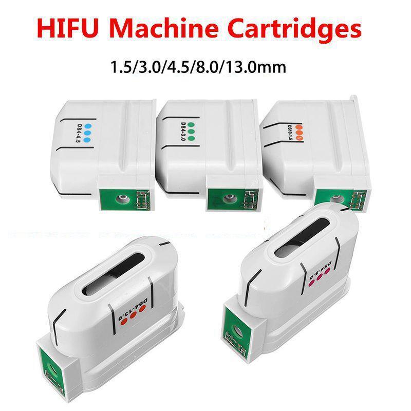 Wkłady zamienne 10000 strzałów na wysoką intensywność Skupiona ultradźwiękowa Maszyna HIFU Maszyna do twarzy i ciała do podnoszenia zmarszczek