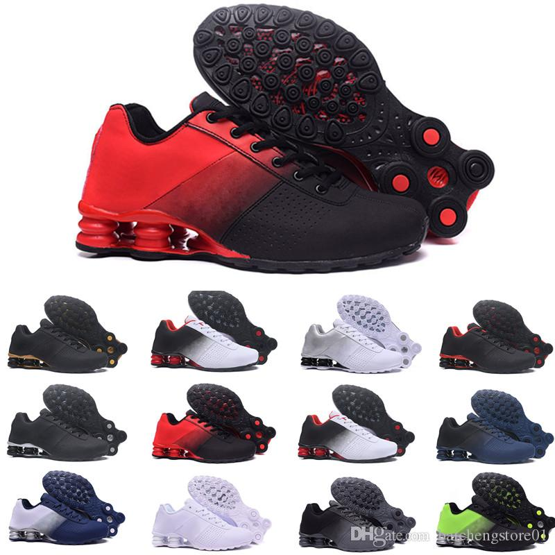 plutôt sympa 3041e f1c8a Zapatos Hombre Shox Men Running Shoes Chaussures R4 Nz Mens Designer  Sneakers Man Sport Trianers Tn Sizes Eur40-46