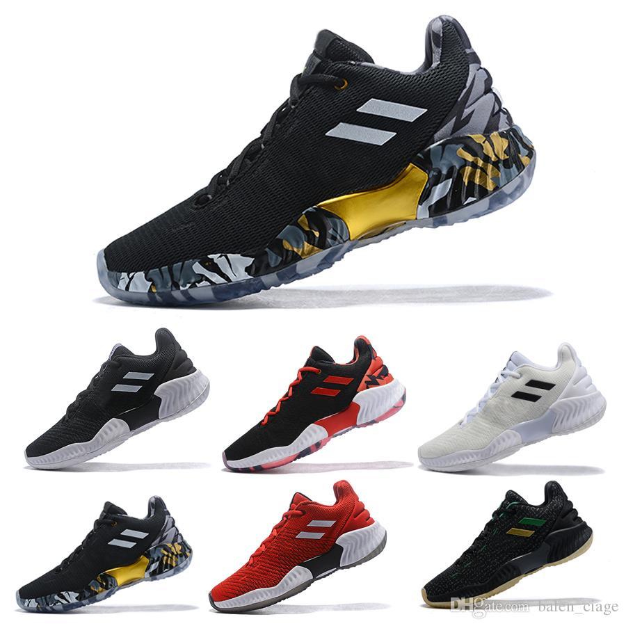 42ebc30c2fe2 2019 New Pro Bounce Low Basketball Shoes Donovan Mitchell Shoes Men Sports  Original Designer Size 40-45 Online with  119.77 Piece on Balen ciage s  Store ...