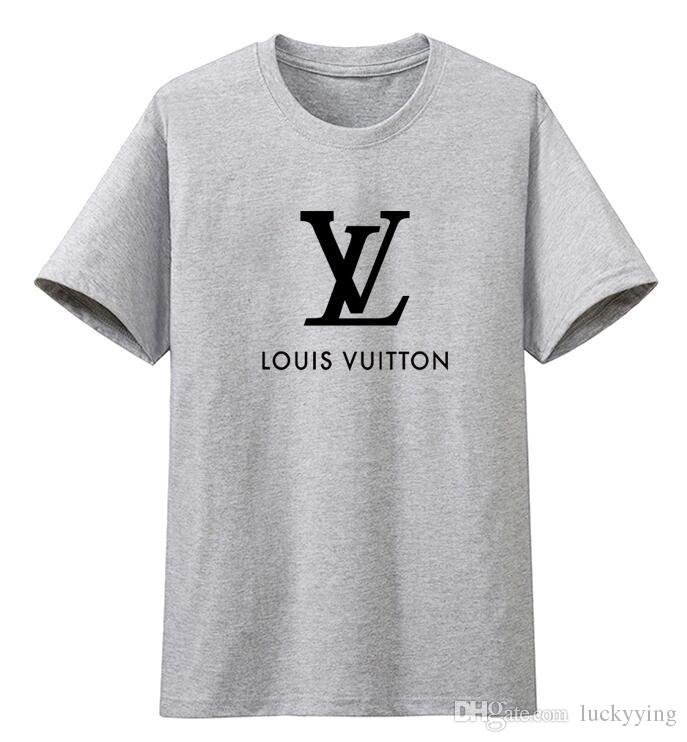 85ac926b9441 2019 NEW Sell New LLOUIS VUITTON Crocodile Embroidery Polo Shirt Men Short  Sleeve Casual Shirts Man S Solid Polo Shirts Camisa Polo From Luckyying