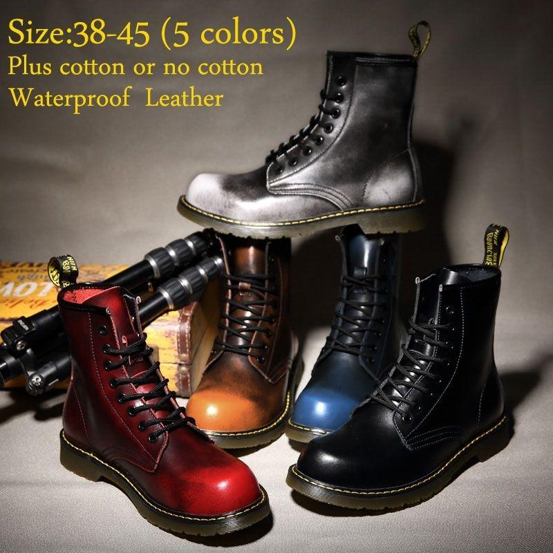 <b>Centenary</b> High Quality <b>Genuine Leather</b> Men And Women Martin ...