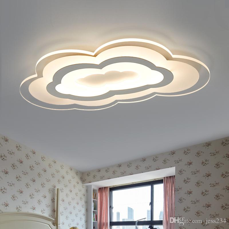 Großhandel JESS 2019 New Flaky Clouds Abajur Led Lampe Decke ...