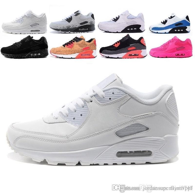 6f68c85e Compre Nike Air Max 90 Multicolor Venta Al Por Mayor De Alta Calidad De Los Hombres  Y Las Mujeres 90 Ultra Zapatillas De Deporte Amortiguador De Aire ...