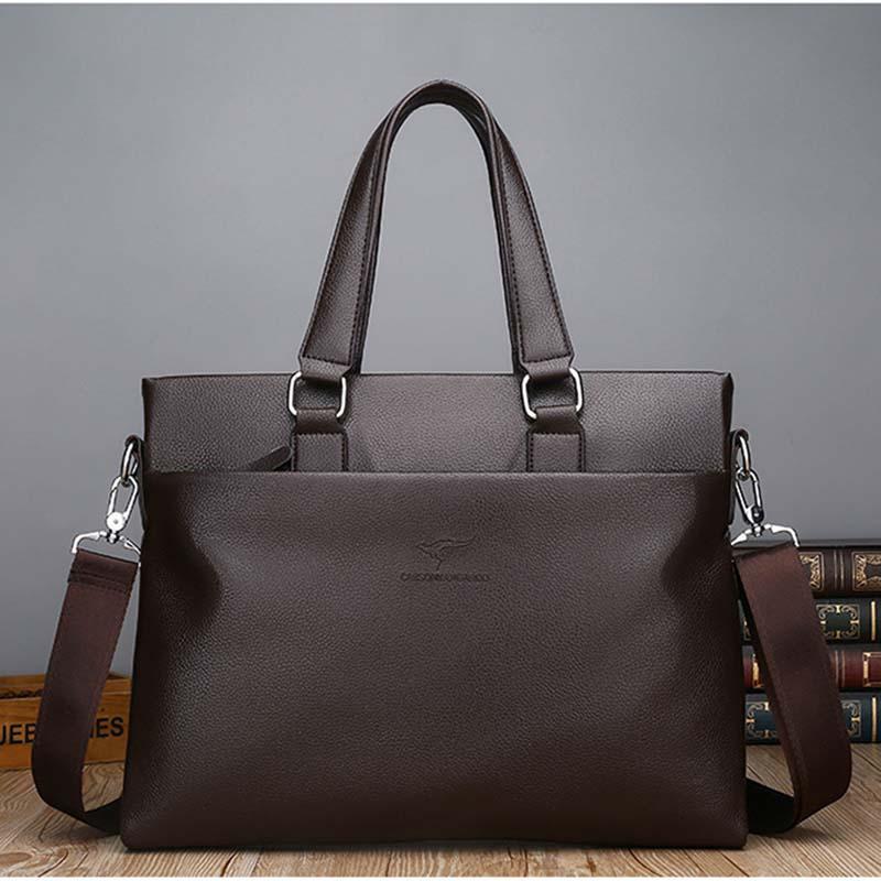 ac042ee25a28f New Fashion Bags Shoulder Bag Men'S Vintage Canvas And Leather Satchel  School Military Shoulder Bag Messenger For Notebook Laptop Bags Crossbody  Bags ...