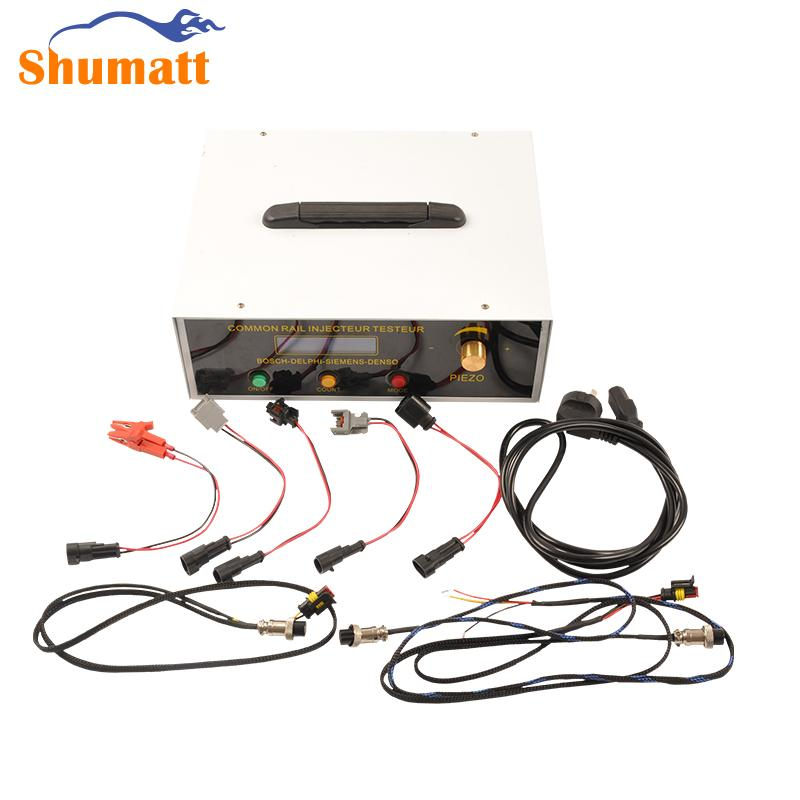 Common Rail Tool Piezo Injector Fuel Nozzle Tester Solenoid Simulator Kit for D-ENSO B-OSCH D-ELPHI CRT078