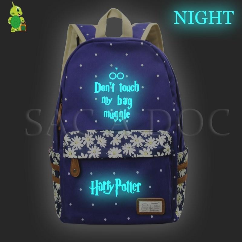 85d461163654b Satın Al Çantamı Dokunmayın Aydınlık Sırt Çantası Kızlar Çiçek Dalga  Noktası Okul Sırt Çantası Hogwarts Ölüm Yadigarları Seyahat Çantaları,  $36.24 | DHgate.