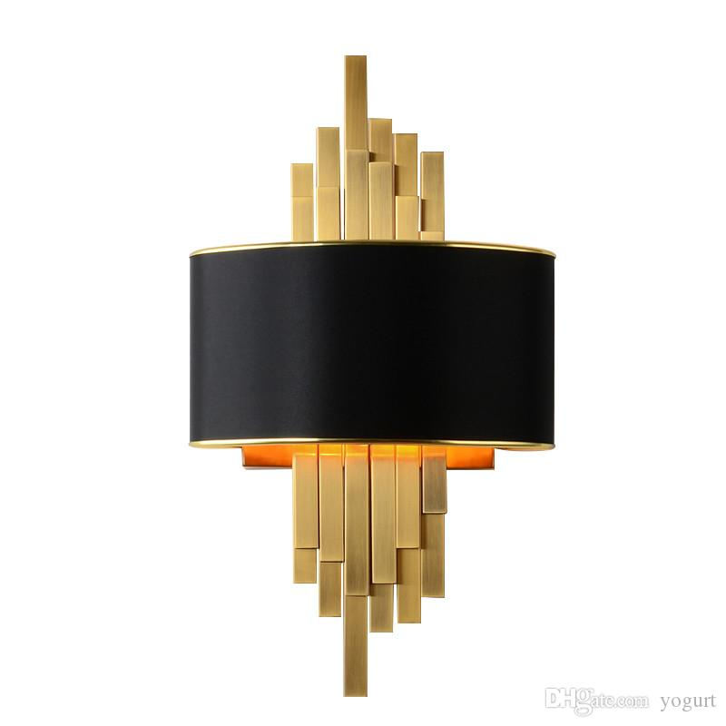 Gold Wall Sconces Lighting Fixtures Bedroom Living Room Black
