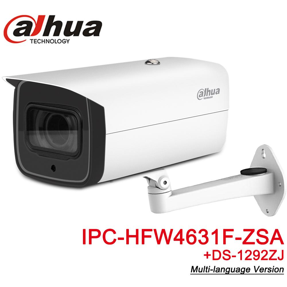 Dahua IPC-HFW4631F-ZSA 6MP IP Camera 5X Zoom 2.7~13.5mm Motorized VF Lens 60M IR MAX SD Card Slot Built-in MIC IP67 IK10
