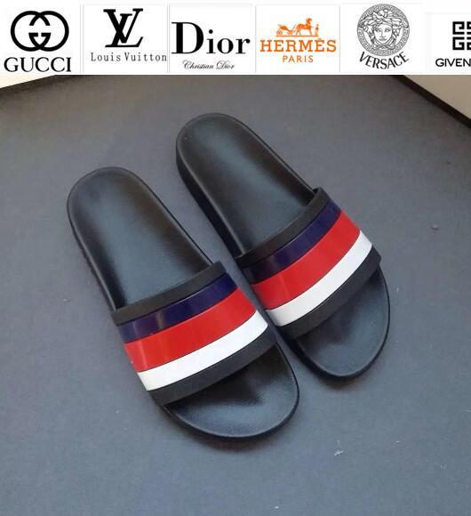 Vvtisks6 Summer New Couple Sandals And Slippers Casual Handmade Walking Tennis Sandals Slippers Mules Slides Thongs