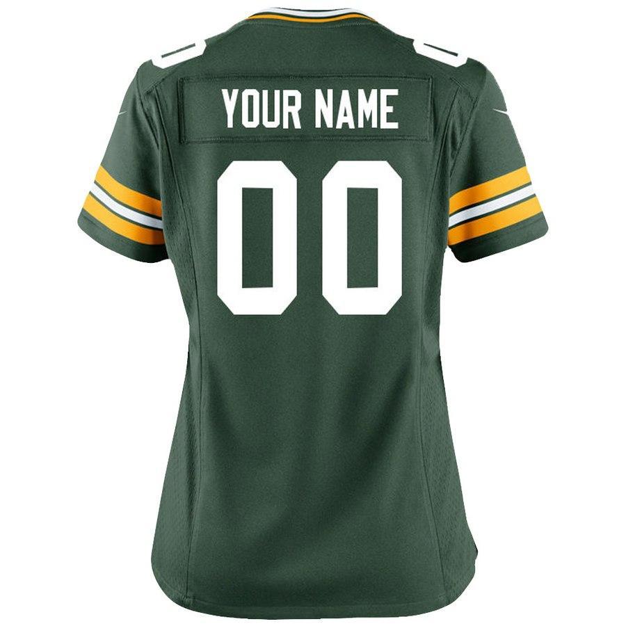 new concept 11da0 1fa29 Womens Aaron Rodgers Jersey Custom Packers Stitched Clay Matthews Davante  Adams Reggie White Ladies Brett Favre Football Jerseys