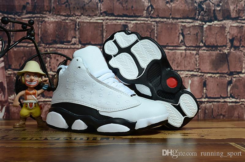 Nike air jordan 13 retro Venta en línea Barato New 13 Zapatillas de baloncesto para niños Zapatillas para niñas de niños Zapatillas para correr Babys 13s Tamaño 11C-3Y