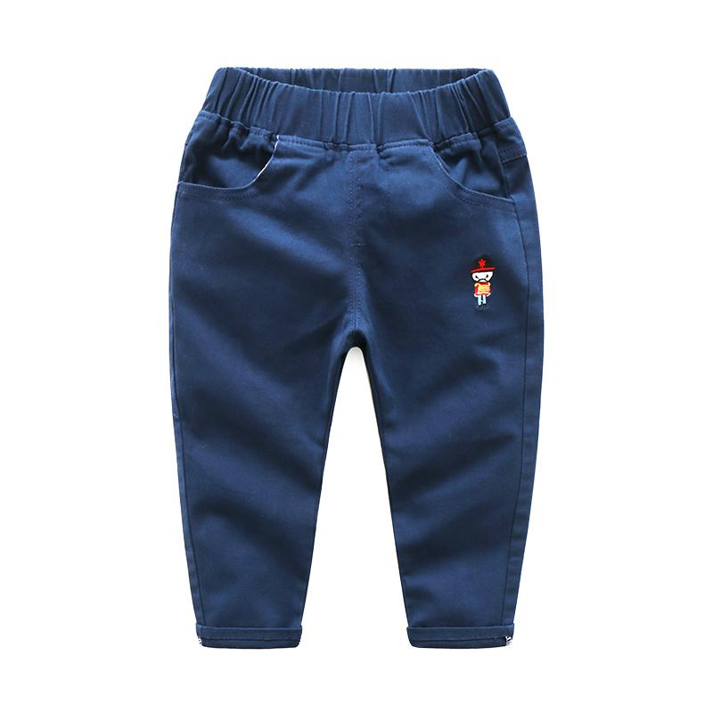 good quality spring boys pants candy color trousers for kids casual cartoon children clothing bebe sport trousers boys pencil pants