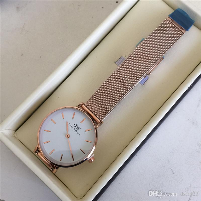 e76cb5e70264a9 Daniel Wellington'S Women Luxury Quartz Men Lovers Watch Casual Japan  Quartz Watch Stainless Steel Mesh Strap Ultra Thin Clock Male 2019  Discounted Watches ...
