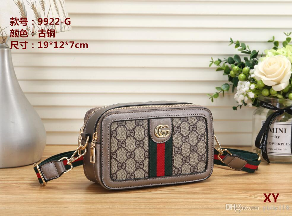 2019 Hot sale women fashion handbag shoulder messenger crossbody bag high quality classic style lady leather tote Famous Purse wallets B034