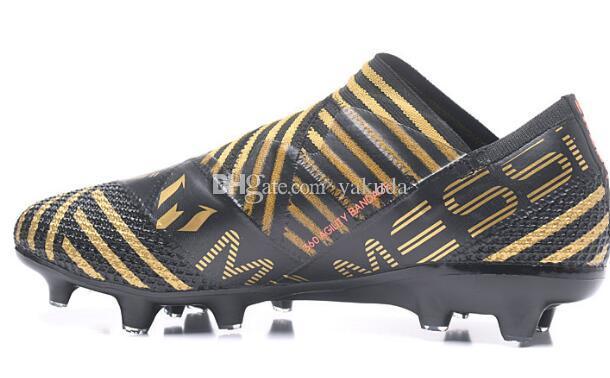 7d706239ab2 Acheter 2019 Nouveaux Entraîneurs Messi 17.1 FG Chaussures De Football