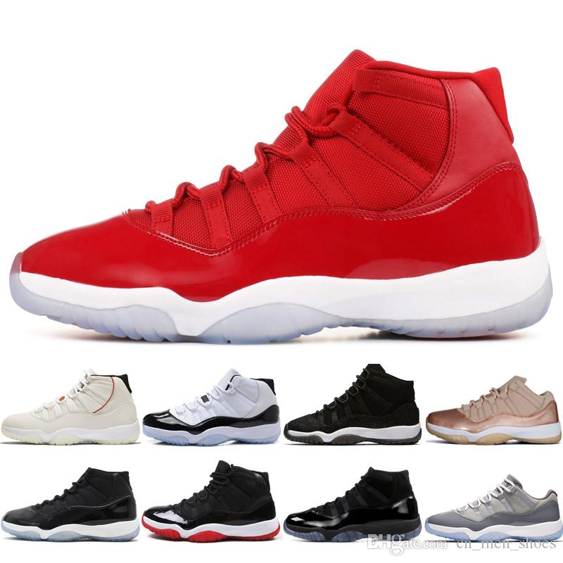 a5a6344883a2eb Best 11 Platinum Tint Concord 45 Cap And Gown Gym Red Black Stingray  Midnight Navy Bred Barons Bred 11s Mens Womens Basketball Shoes Sneaker  Shoes Sneakers ...
