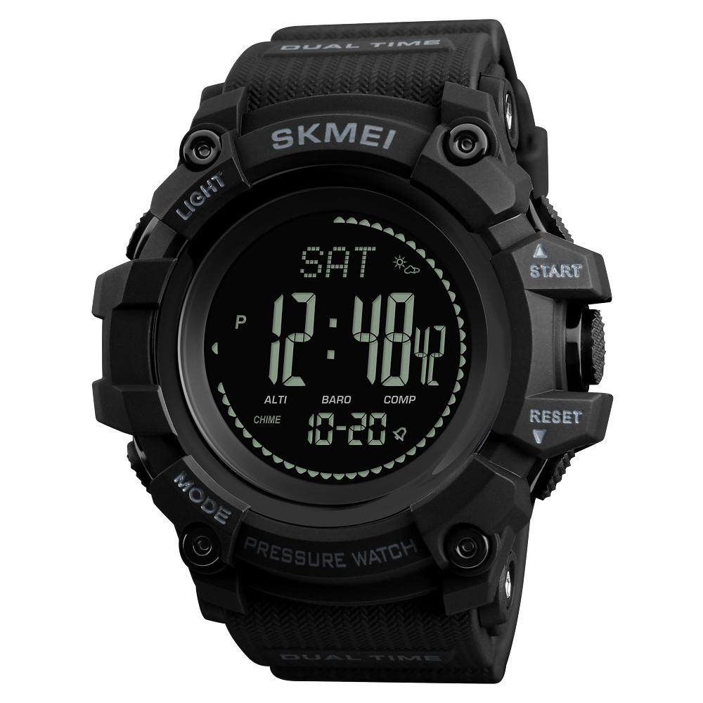 30a2c8c2426 Compre SKMEI Marca Mens Sports Relógios Horas Pedômetro Calorias Digital  Altímetro Barômetro Bússola Termômetro Tempo Homens Relógio C19010301 De  Tong06