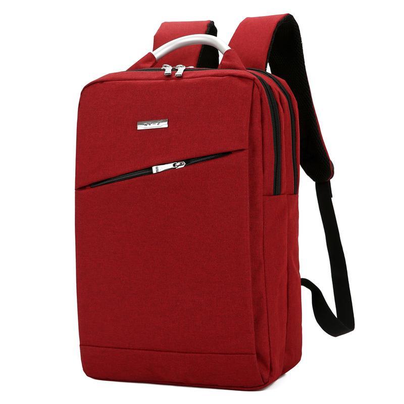 2019 FashionLuxury Designer Women 15 Laptop Backpack High Quality  Waterproof Oxford Backpack Metal Handle Travel Backpack School Laptop  Rucksack Backpacks ... 9ee559abd2