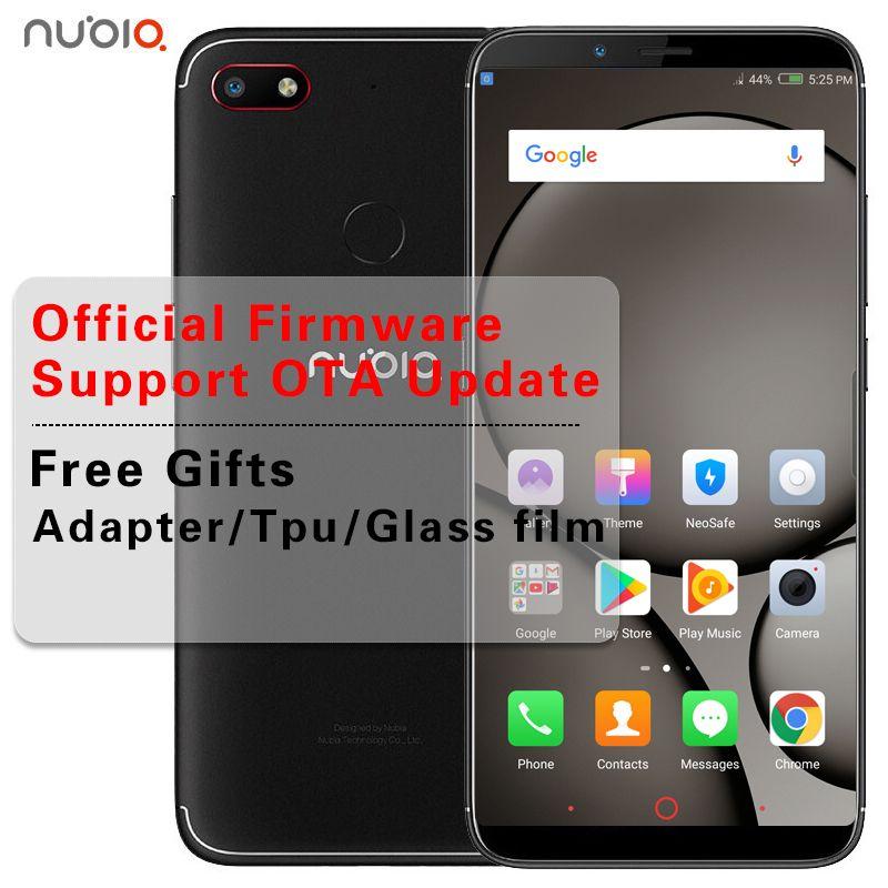 Stock 6 01 inch Nubia V18 Phone 4GB RAM 64GB ROM Android 7 1 Snapdragon 625  Octa Core 2 0GHz Dual SIM 2160x1080 4000mAh