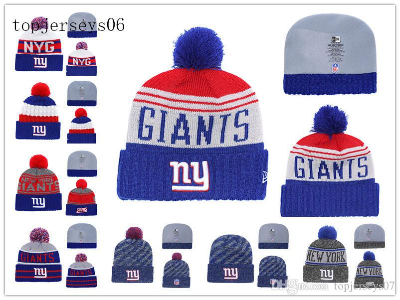 4af31c5cad7 Acquista New York American Football Cap Giants Era 2018 Sideline Cold  Weather Nero Sport Knit Hat Black A  15.08 Dal Youyoujersey