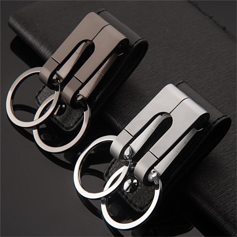 100 Newest Luxury Zinc Alloy Car Keychain Key Rings Keyring Key