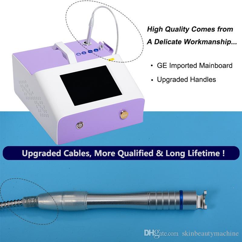 980 nm Láser Vascular Tratamiento Vascular máquina de eliminación de 30 vatios Piernas facial Enrojecimiento de lesiones Dispositivos de eliminación de arañas vasculares