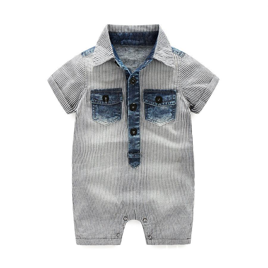 eef03daa6614 2019 Baby Boy Clothes One-pieces Jumpsuits Baby Clothing