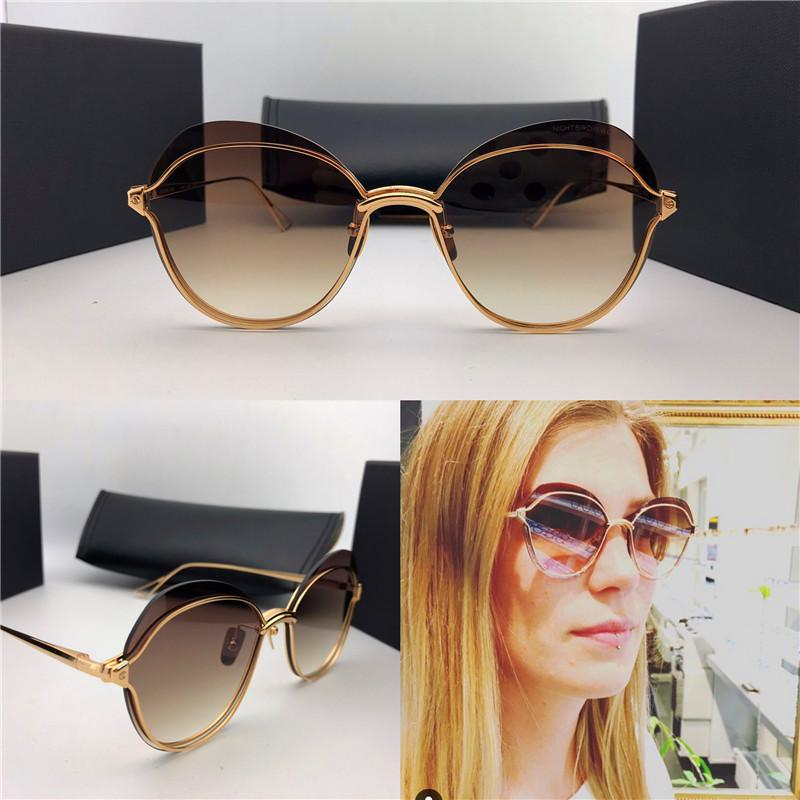3cec8db7a68 New Fashion Women Sunglasses Nightbird 2 Metal Frameless Avant-garde Design  Style Top Quality Uv Protection Eyewear Sunglasses Online Online with ...