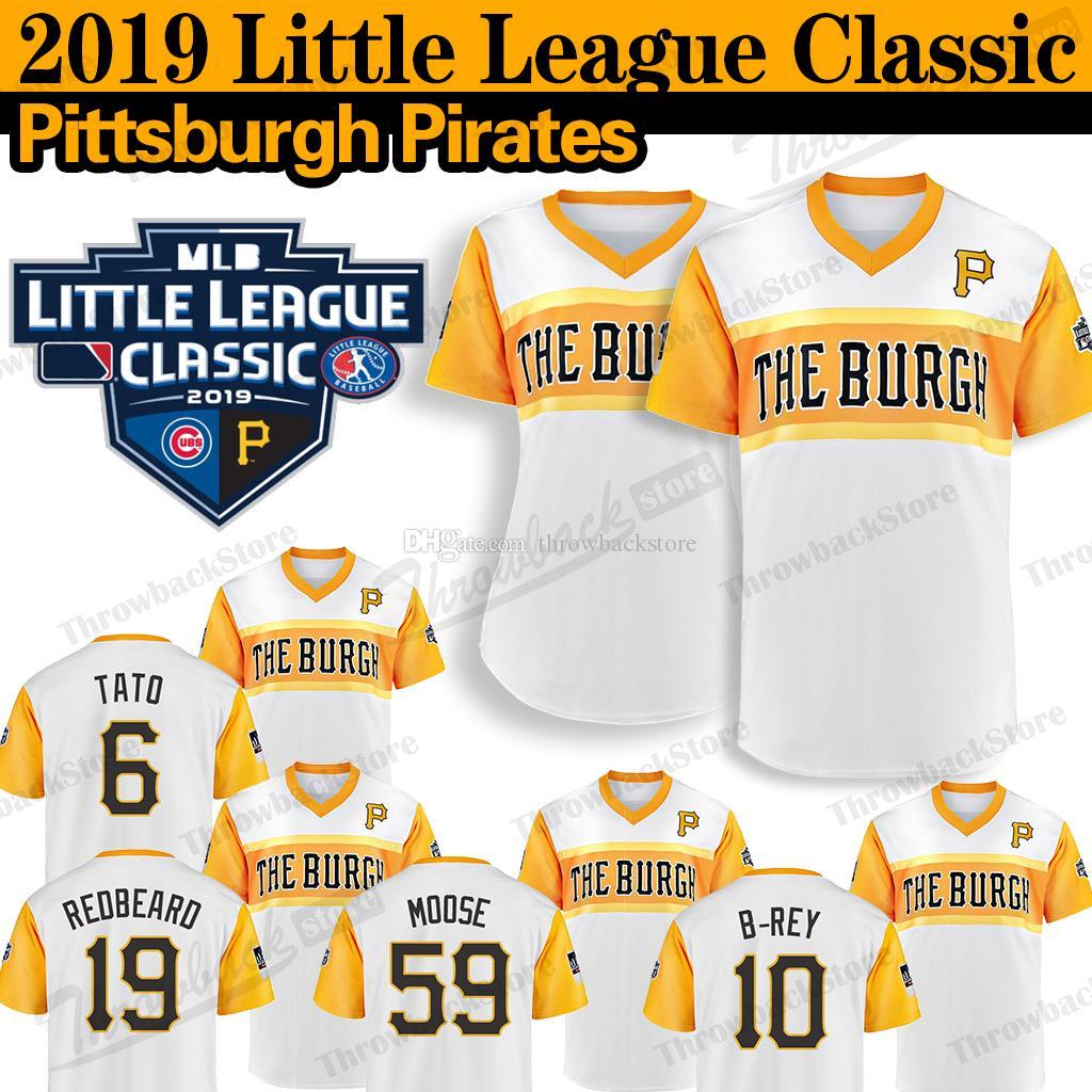 online retailer 078e1 624ca Pittsburgh Little League Classic Pirates Jersey Josh Bell Francisco  Cervelli Chris Archer Barry Bonds Willie Stargell Baseball Jerseys