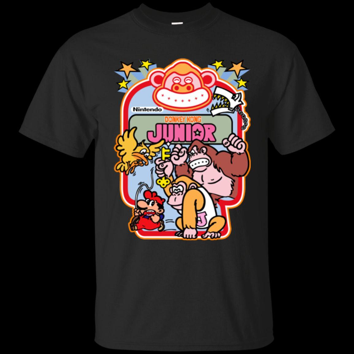 40066253 Donkey Kong Junior Arcade Cabinet Decal G200 Wholesale Discount T Shirt  Cartoon T Shirt Men Unisex New Fashion Tshirt Top Funky T Shirt Designs T  Shirt ...