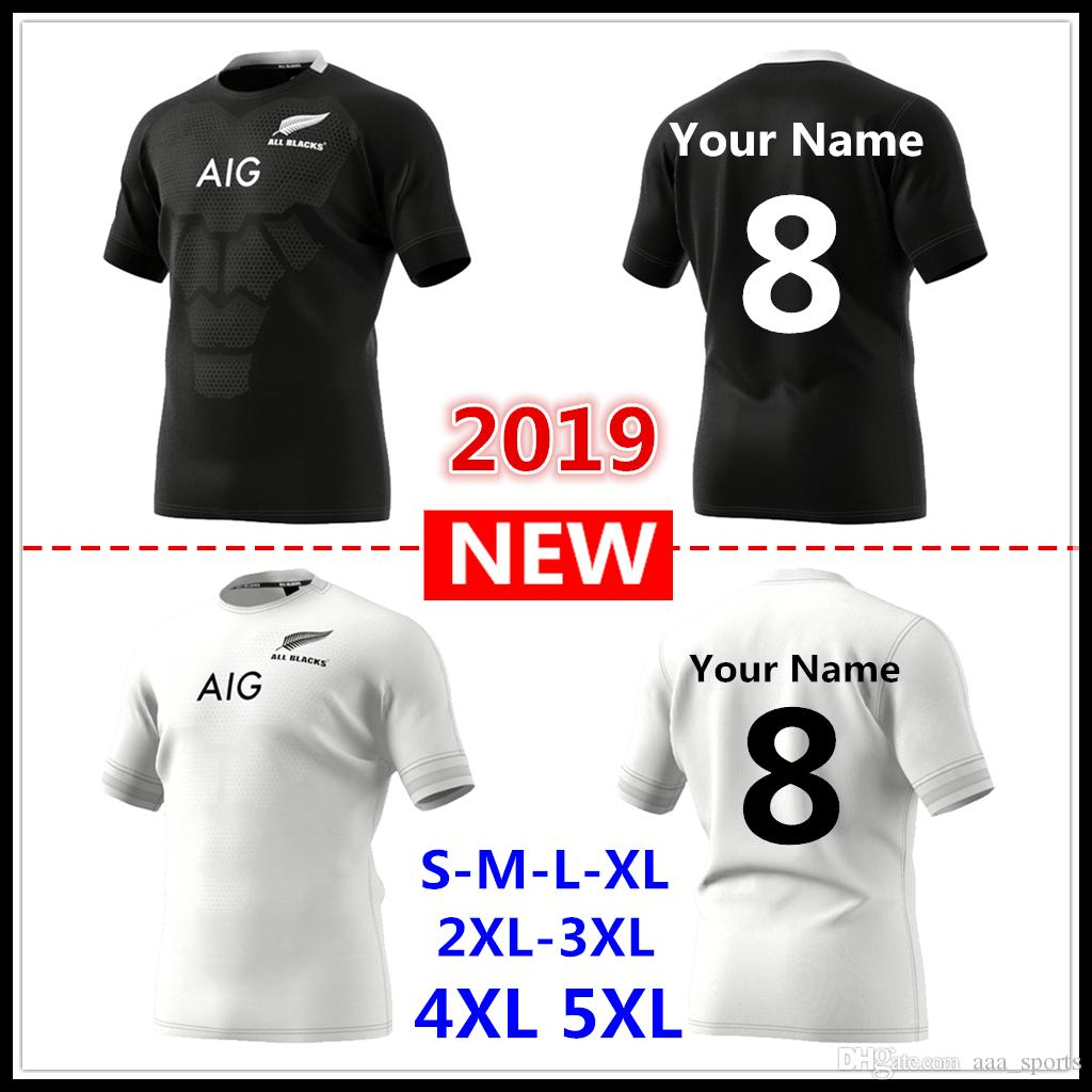 a4c623e81 2019 Custom Names And Numbers 2019 2020 New Zealand All Blacks Home And  Away Rugby Jerseys Super Rugby Shirt All Blacks Jersey Size S 5xL From  Aaa sports
