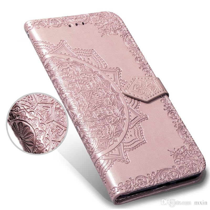 iphone xs flip case embossed