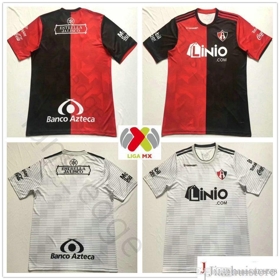 e6262172404 2019 2018 2019 LIGA MX Club Atlas Soccer Jersey J.BARRAZA L.CABALLERO  R.MARQUEZ Home Red Away Grey Custom 18 19 Football Shirt From  James_02_shop, ...