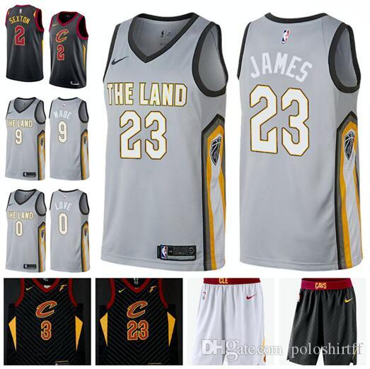 473e071962f 2019 Cleveland 2018 2019 Cavaliers 2 Colin Sexton 23 James 9Wade 0 Love 3  Thomas City Edition Hot Style Fan Jerseys. From Poloshirtlll, $17.55 |  DHgate.Com